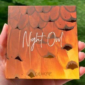 Night Owl Palette by Colourpop Cosmetics
